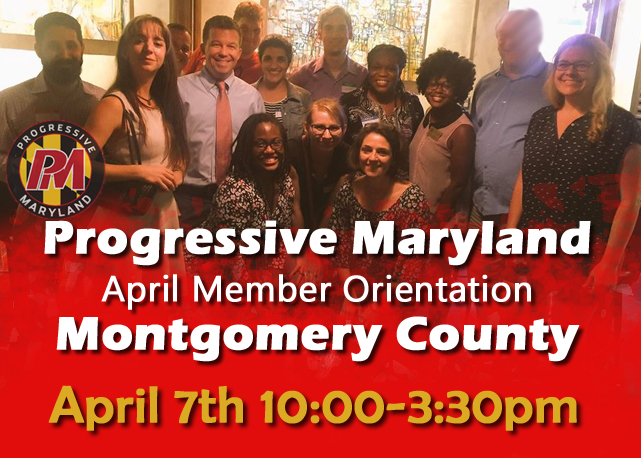 April 2018 Member Orientation - Montgomery County