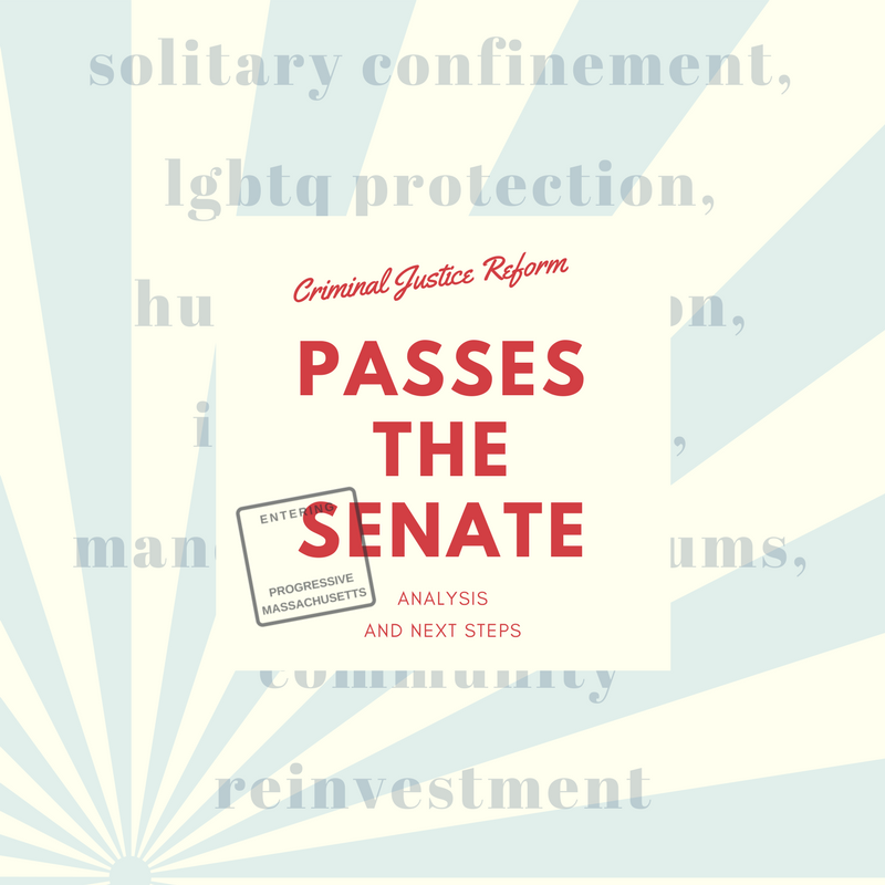 The Senate CJR Bill: Analysis and Next Steps