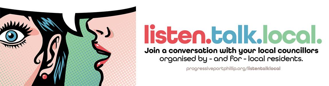 Listen Talk Local events