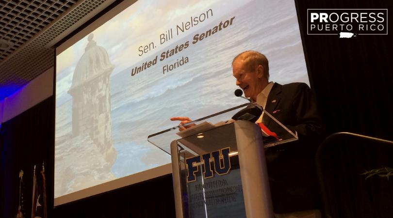 Senator Bill Nelson - Puerto Rico