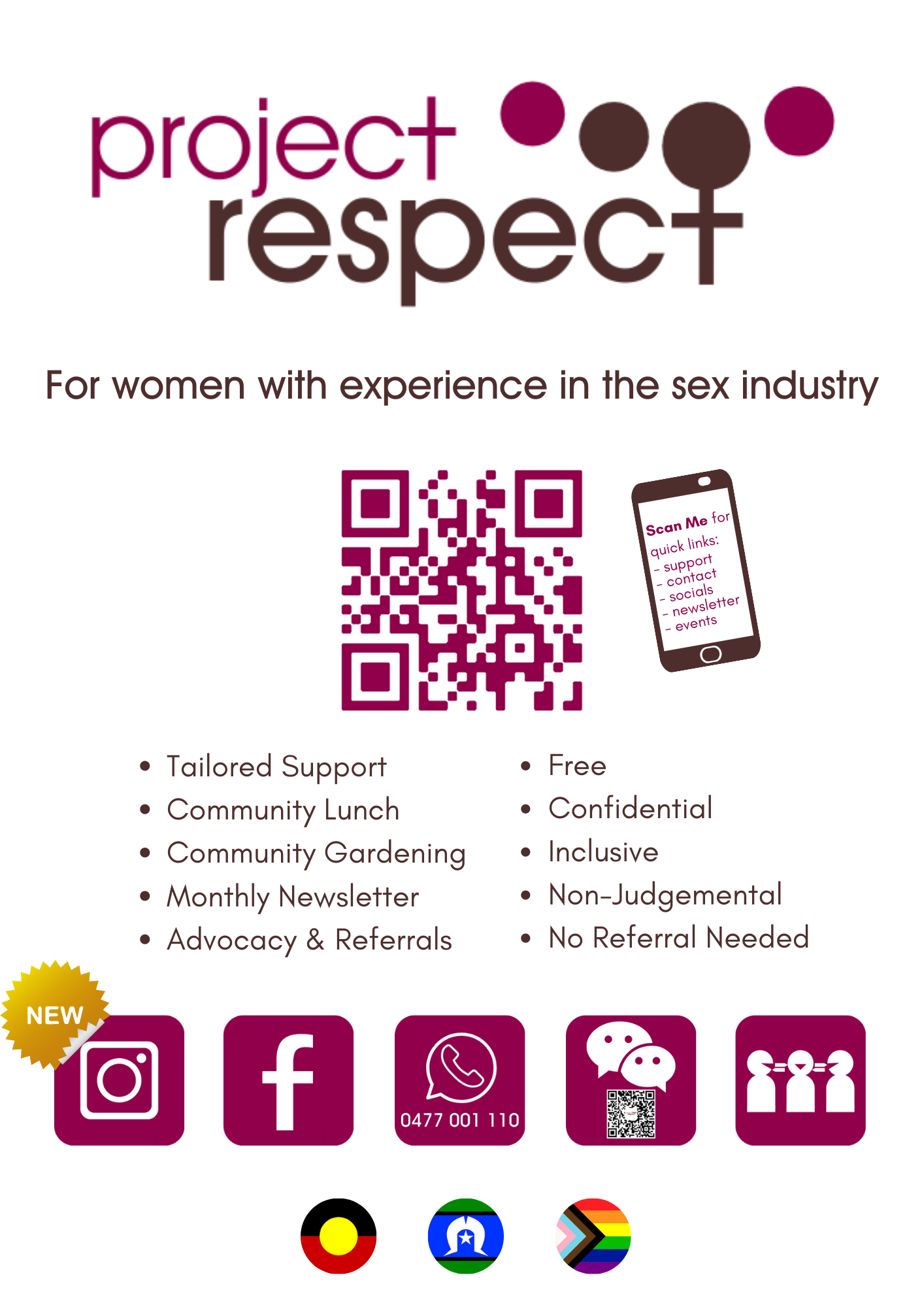 Project Respect Flyer
