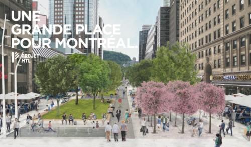 place publique avenue McGill College