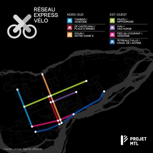 Réseau express vélo
