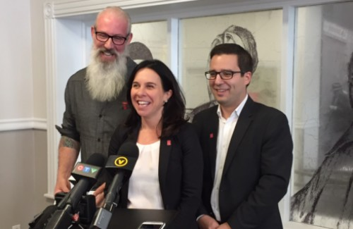 Valérie Plante Sterling Downey Robert Beaudry