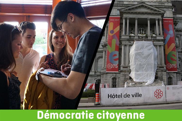 Vie démocratique