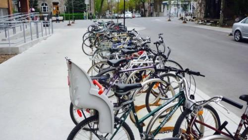 Stationnement vélos Plateau