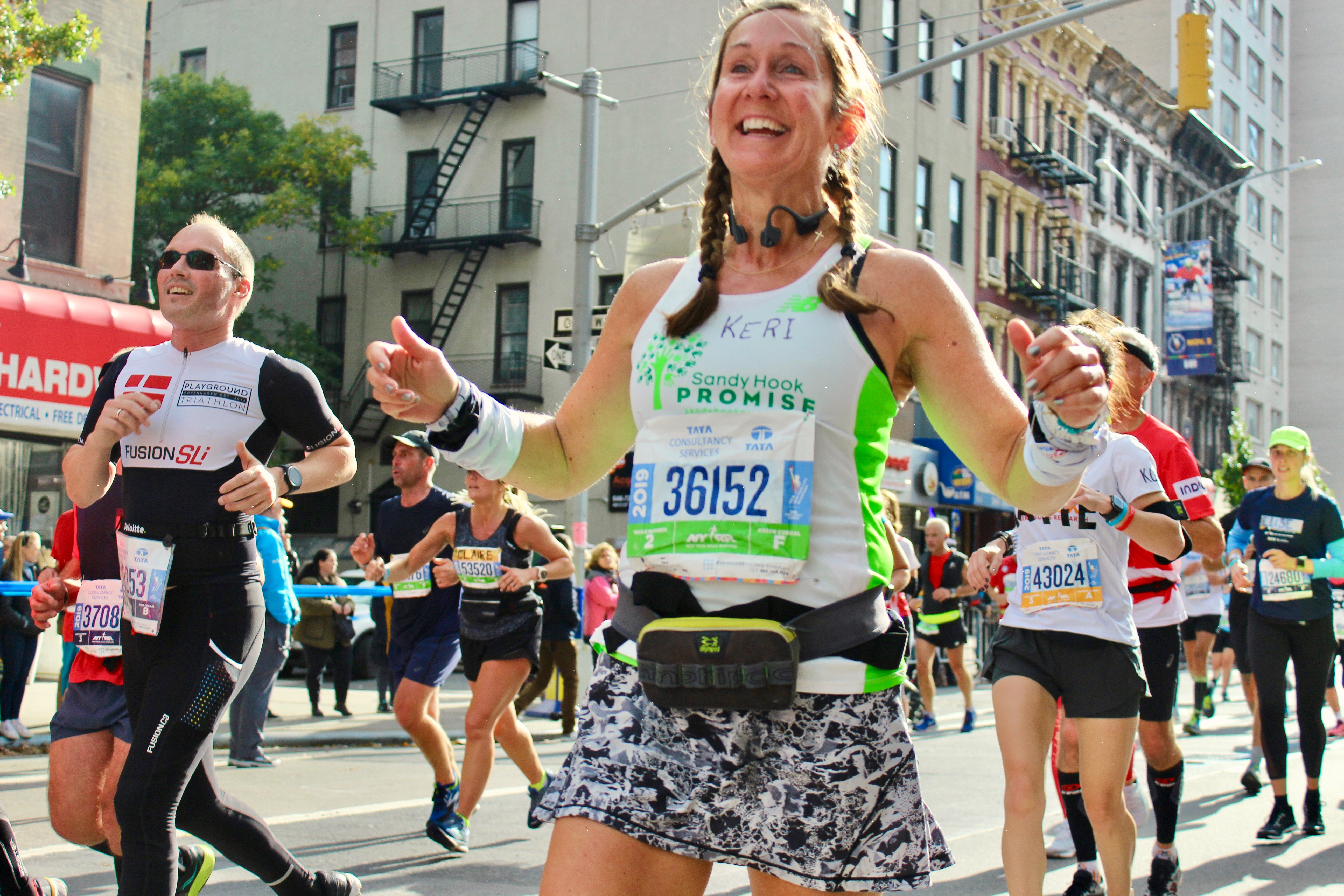 Mark and Tim at NYC Marathon 2015