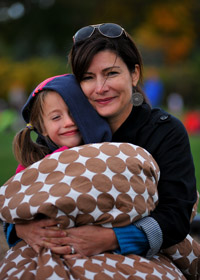 Nikki hosted a Sandy Hook Promise open house in her neighborhood