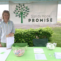 Shannon hosted a table at the annual PTA Spring Fair
