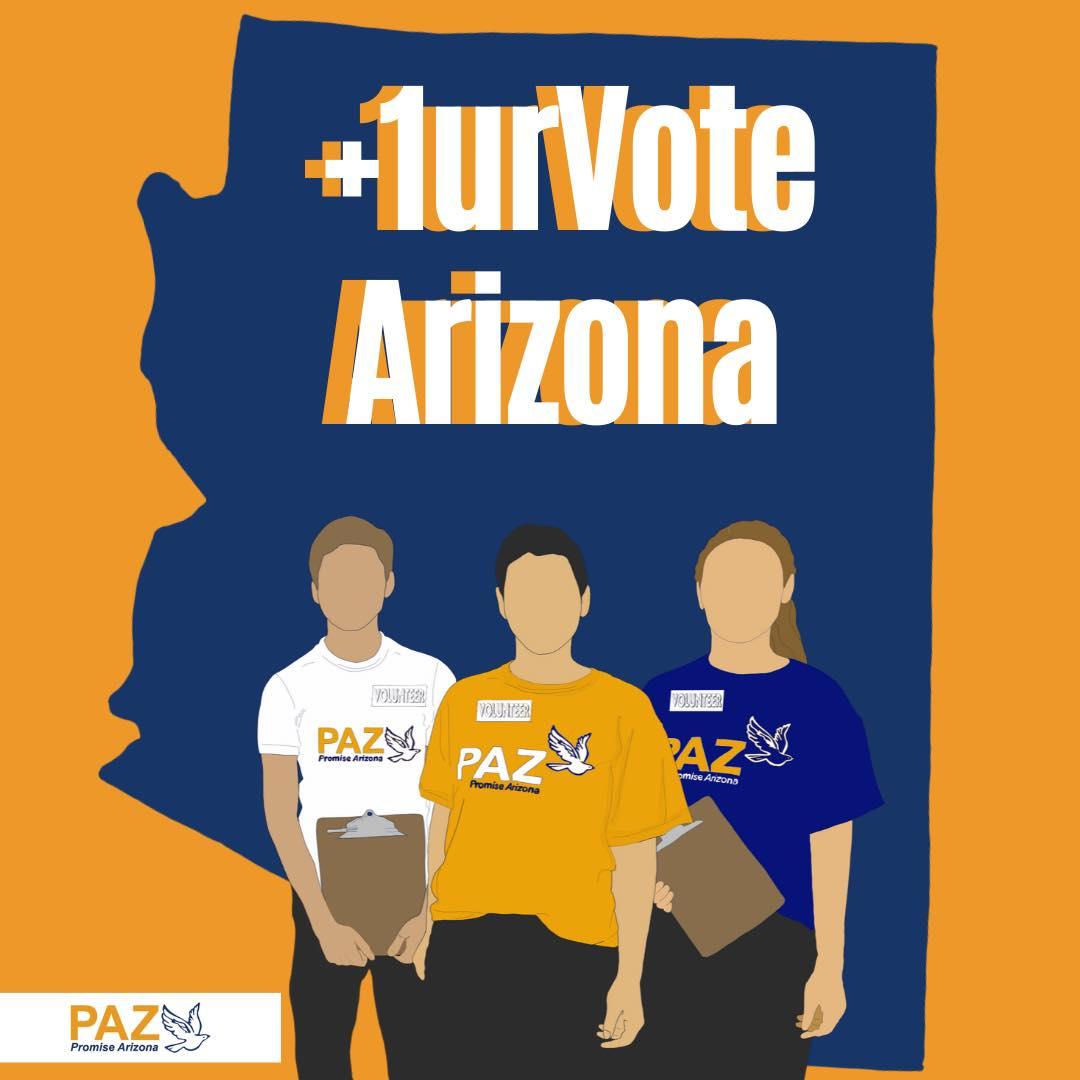 +1urVote Arizona