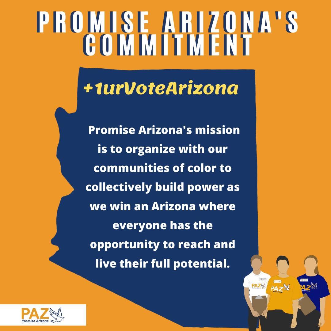 +1urVote Promise Arizona's Commitment