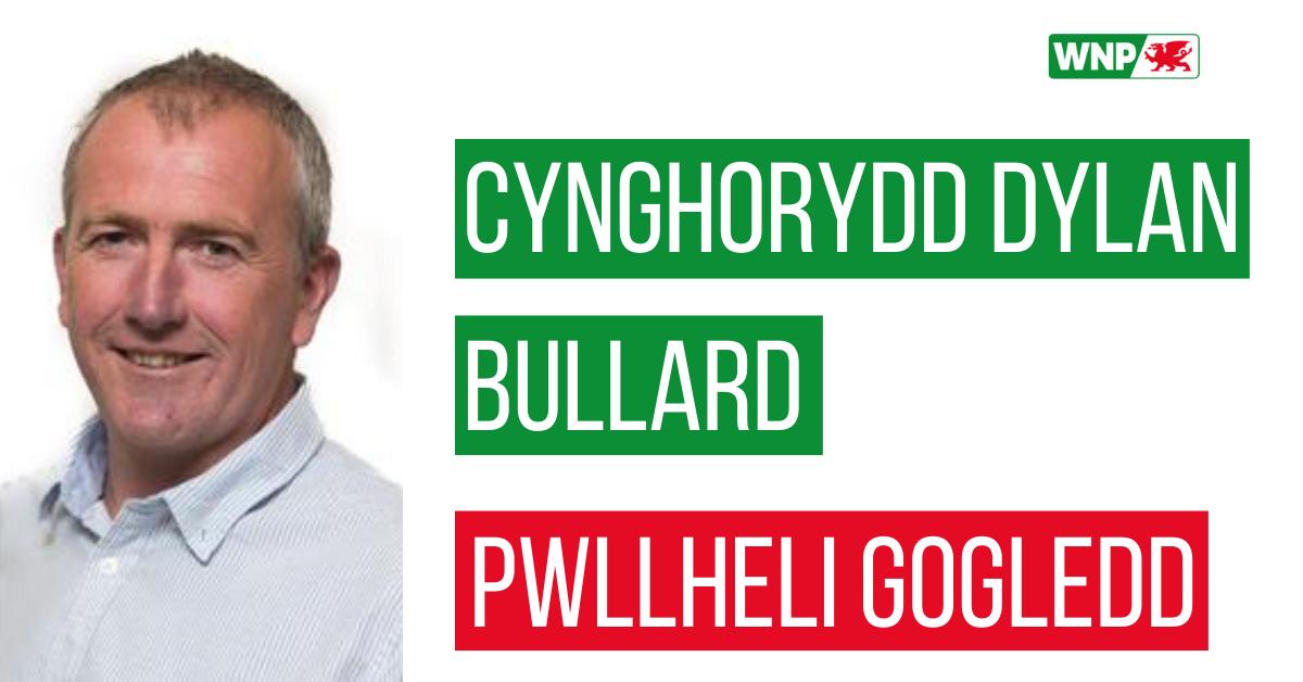Cynghorydd Dylan Bullard