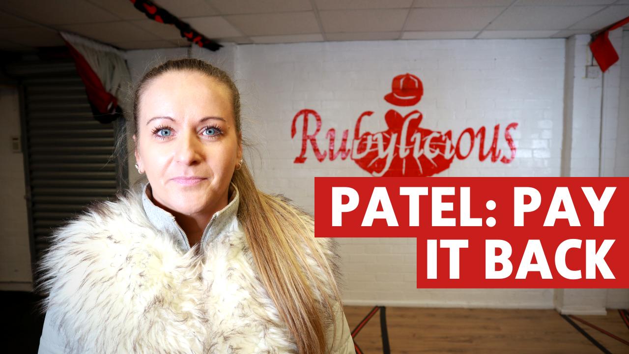 Patel: Pay it Back!