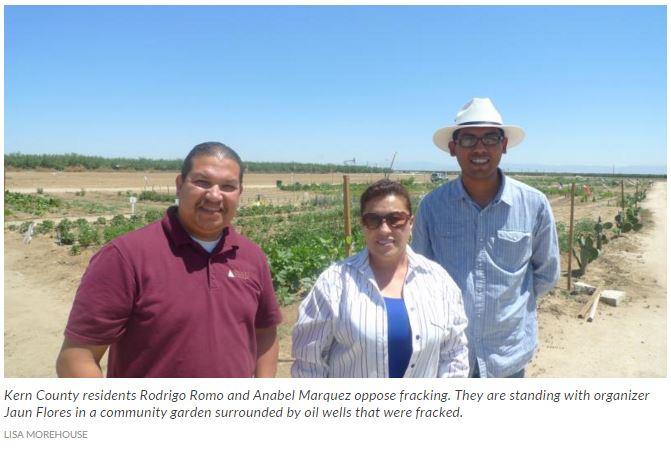 Kern_County_residents_Rodrigo_Romo_and_Anabel_Marquez_oppose_fracking.JPG