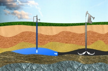 Water Injection Fracking