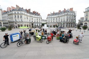 Les boîtes à vélo à Nantes (photo: Patrick Garçon)