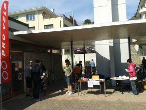 Foire aux vélos à Paudex en 2016