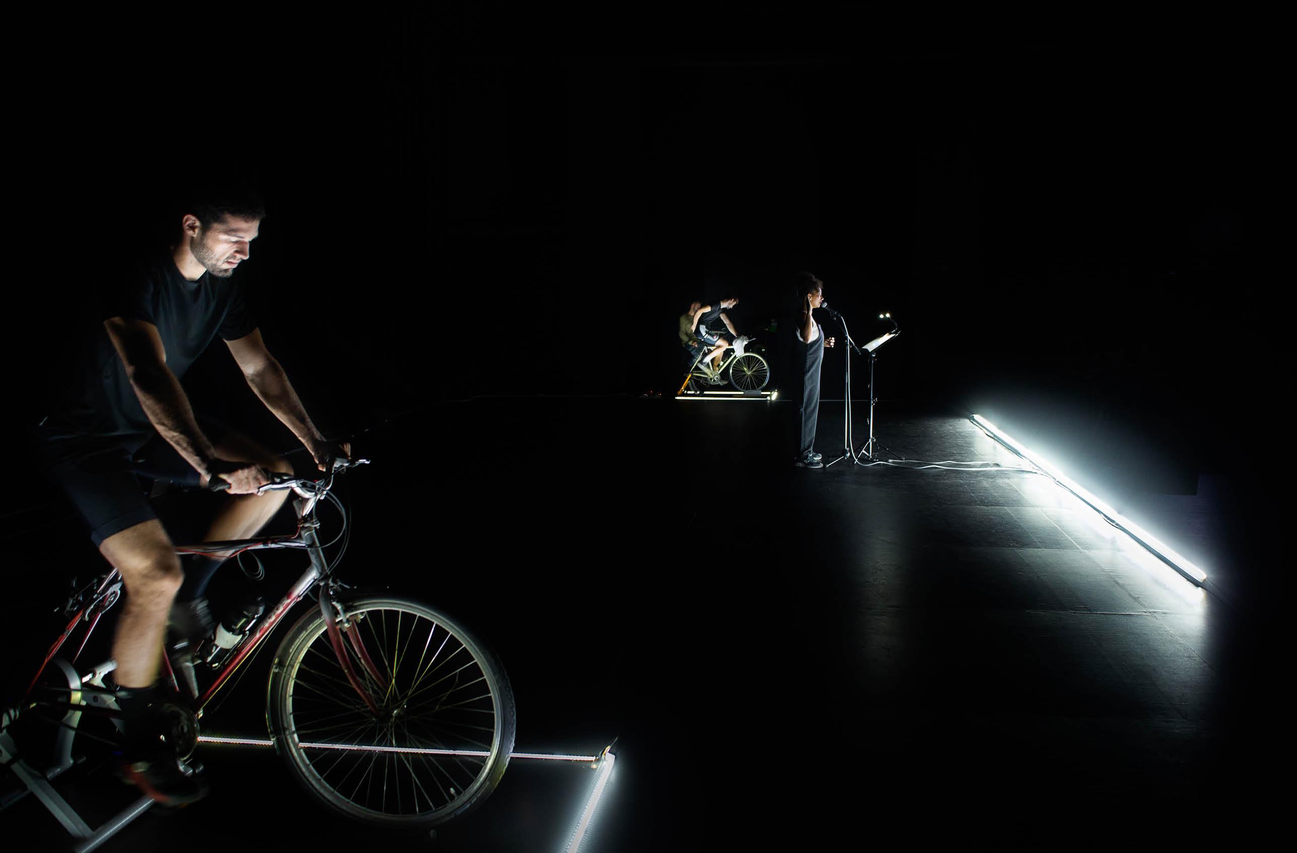 Le vélo s'invite au théâtre
