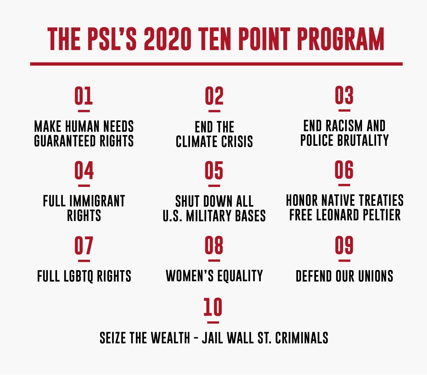10 Point Program