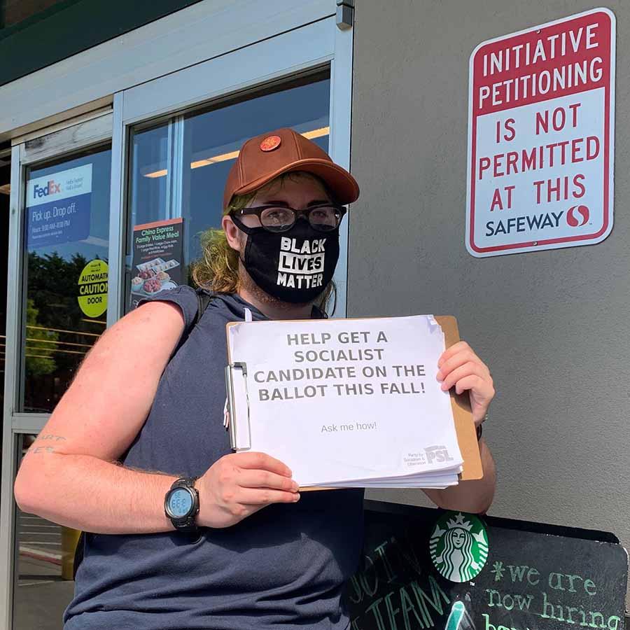 Washington State petitioning