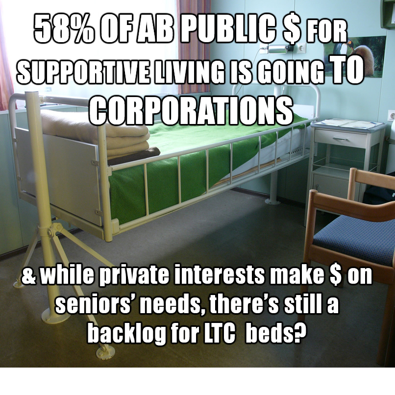 Public Money to Private control of seniors care