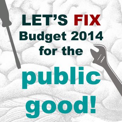 Fix Budget 2014