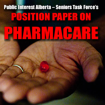 Pharmacare Position Paper