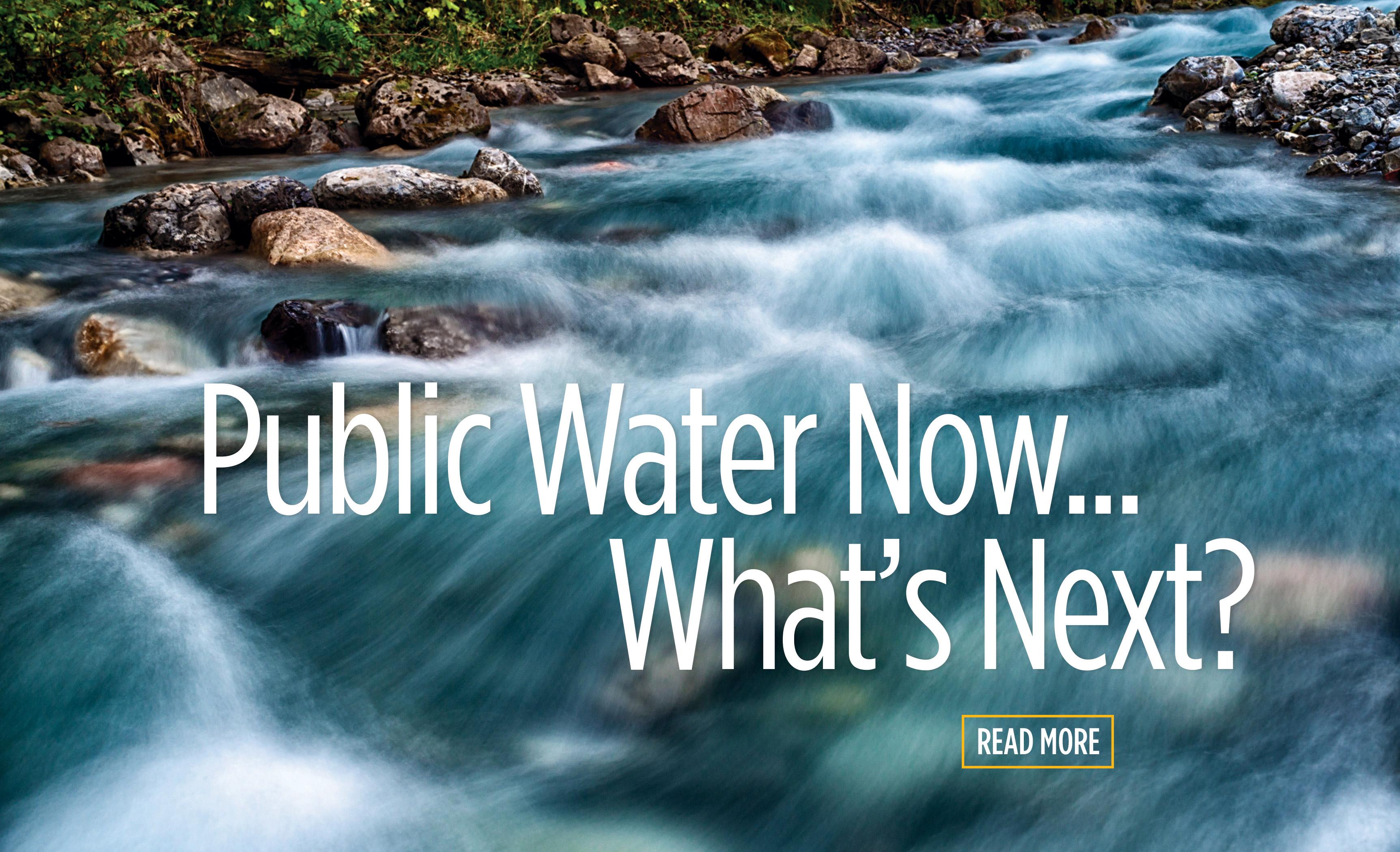 Public Water Now