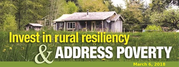 Masthead for the rural poverty newsletter