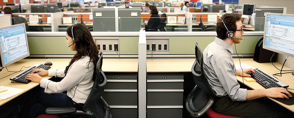 Een van de grootste knelpuntberoepen in Vlaanderen is… callcentermedewerker. (Foto Diana Varisova)