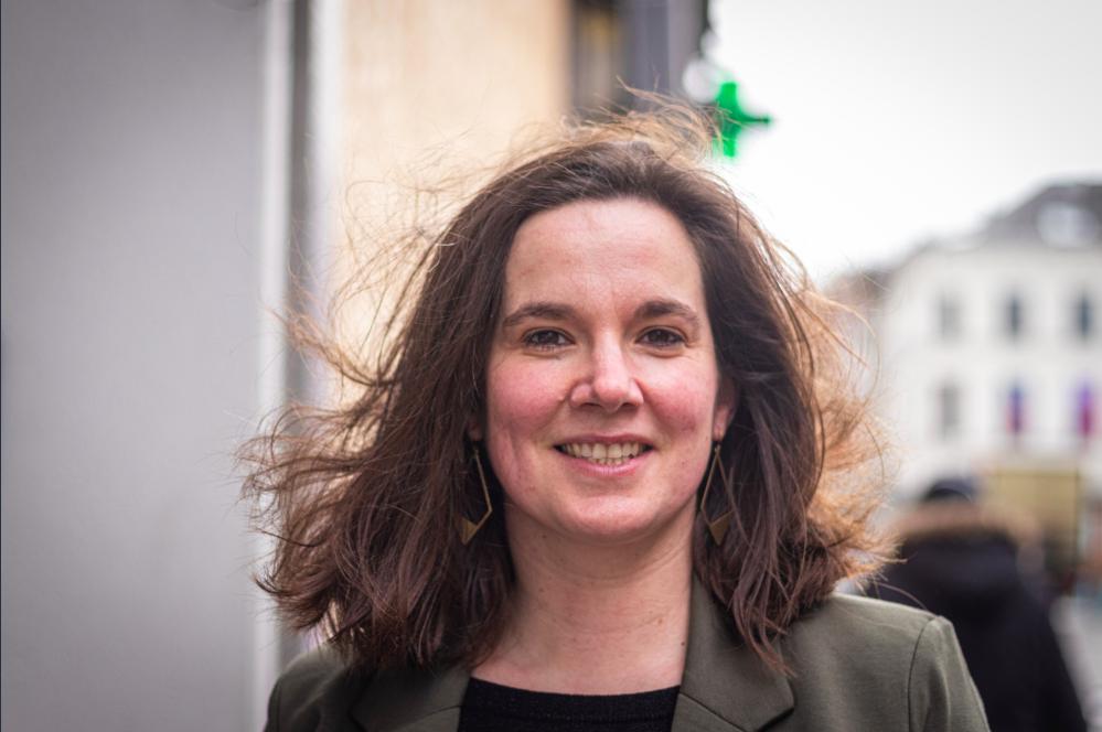 Janneke Ronse, présidente de Médecine pour le Peuple et infirmière.
