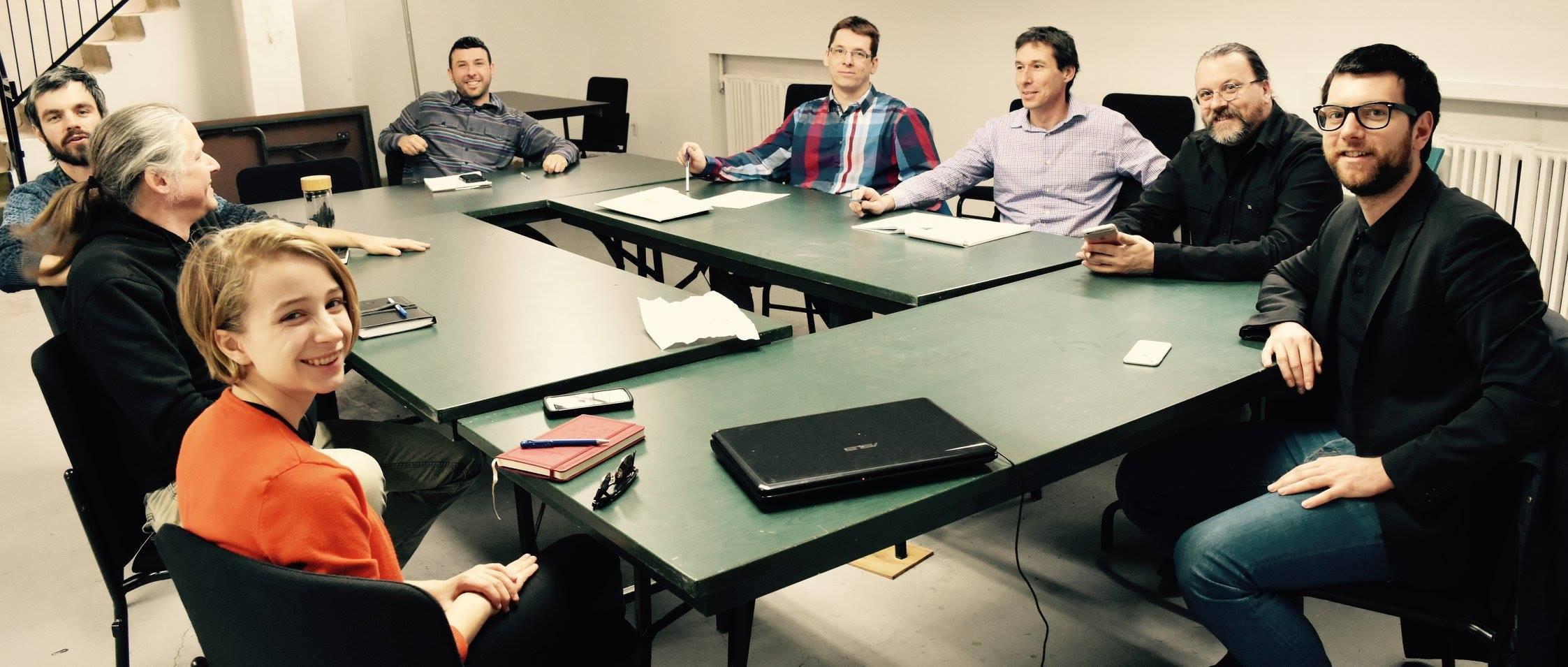 Alex a participé à une table ronde avec cinq organismes environnementaux de la région de Saguenay.