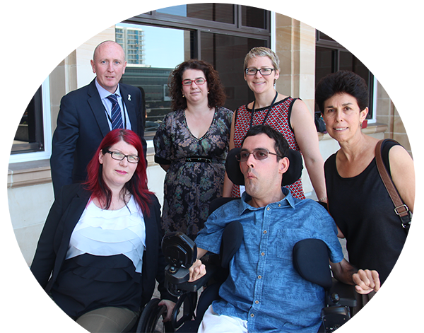 Disability Support Presser at Parliament