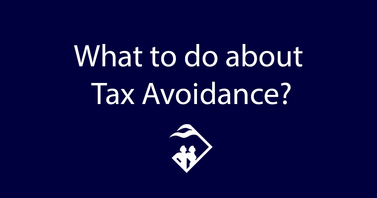 What to do about tax avoidance