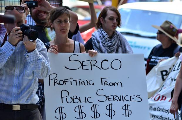 Serco Action Photo from 2012