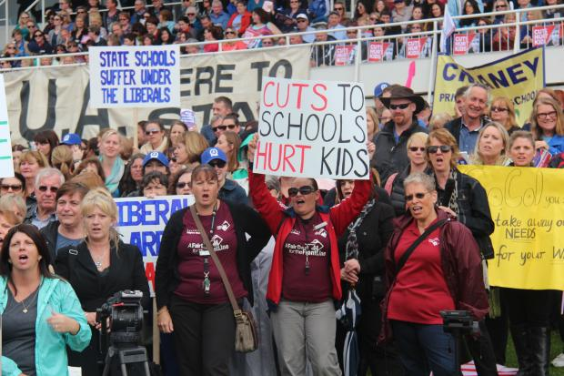 Education Assistants at Rally