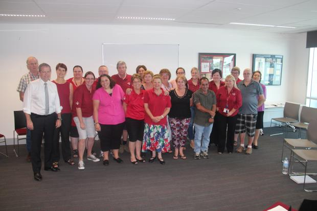 Bill Shorten with Disability Industry members