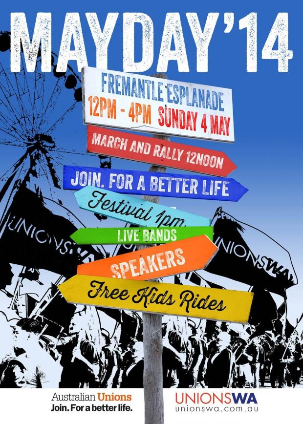 May Day 2014 poster