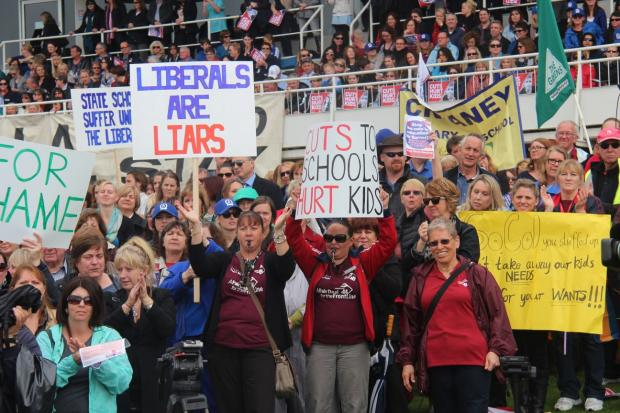 15,000 Educators Rally at Gloucester Park