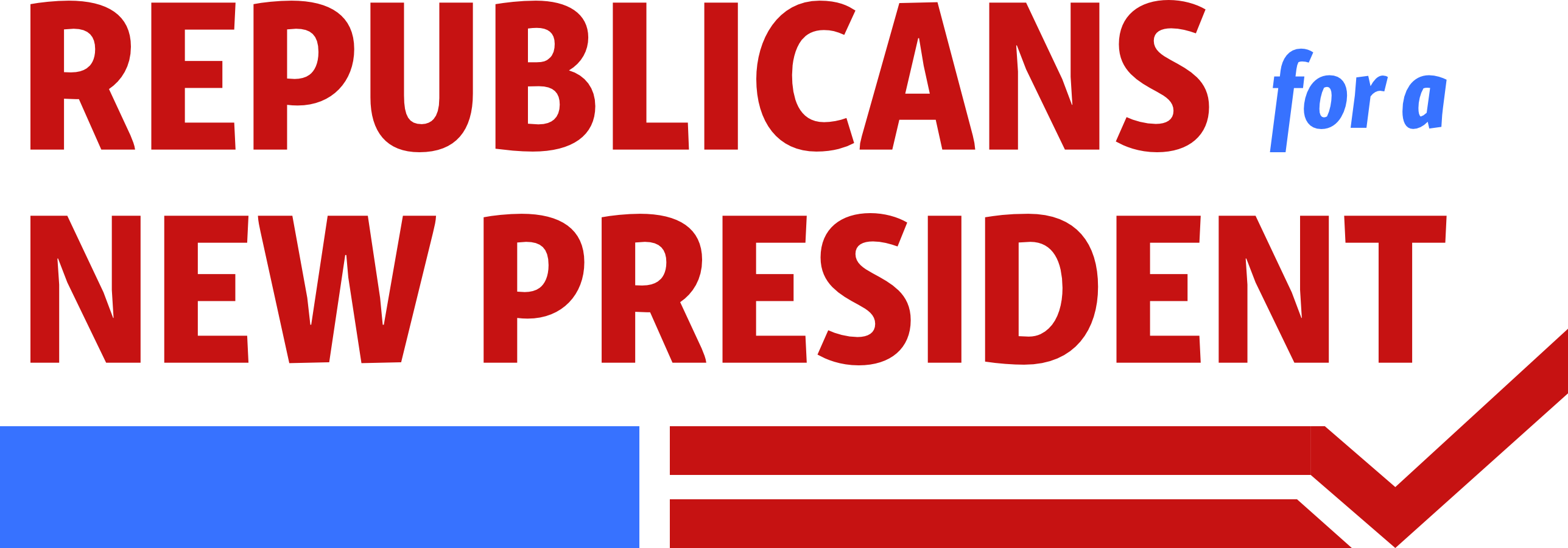 Republicans for a New President