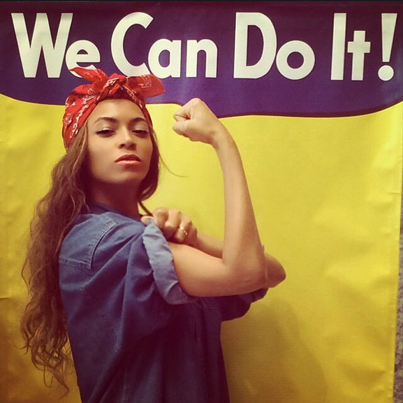 Tell Us What You Think Beyonce As Rosie The Riveter Radio Free