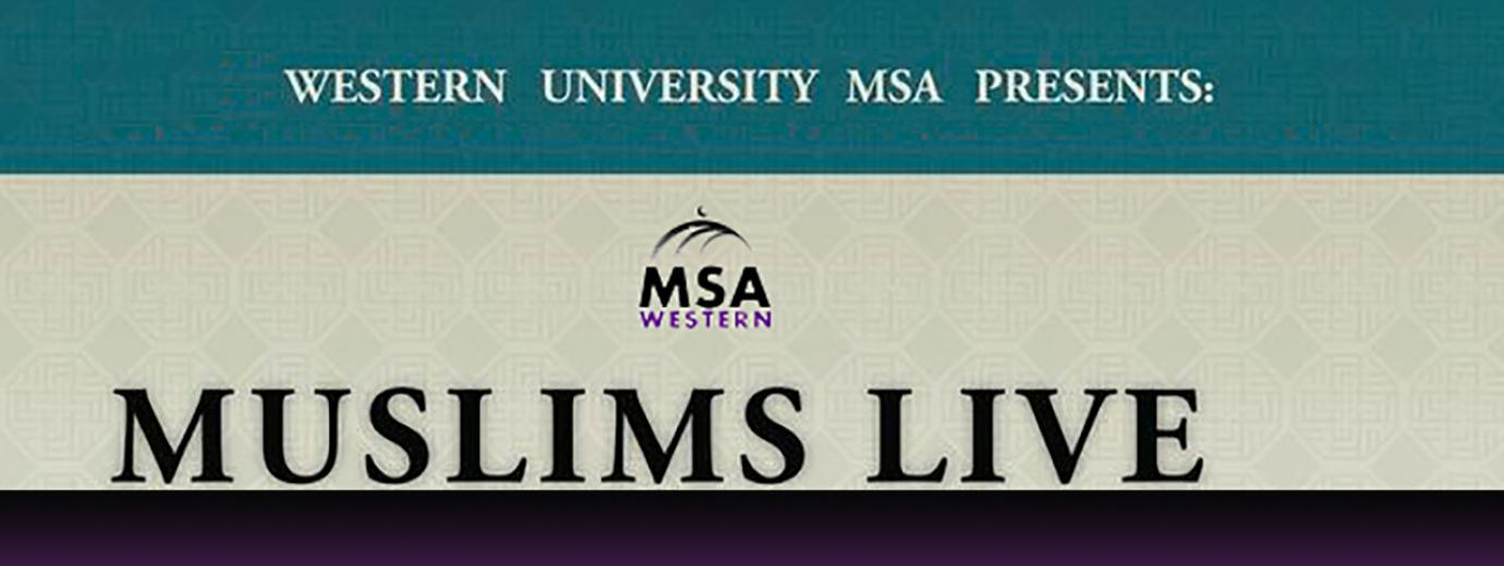 Radio Western - Muslims Live Program Banner