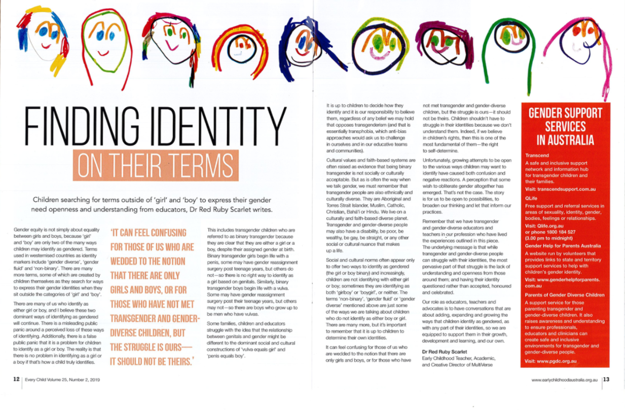 Finding Identity On Their Terms