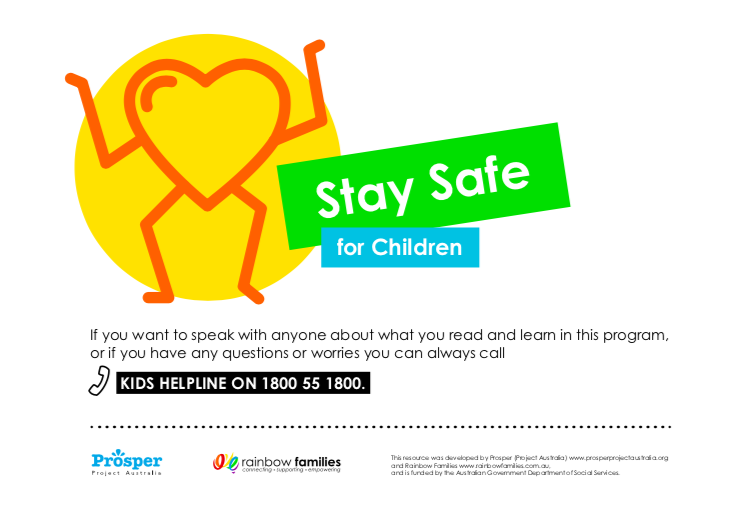 Stay Safe - Primary School