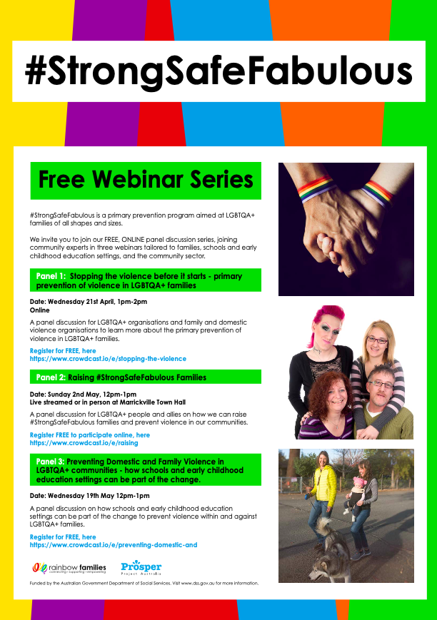 #StrongSafeFabulous Webinar Series