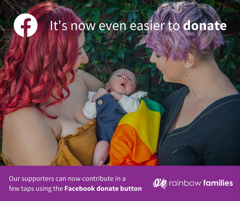 Fundraise On Facebook For Rainbow Families