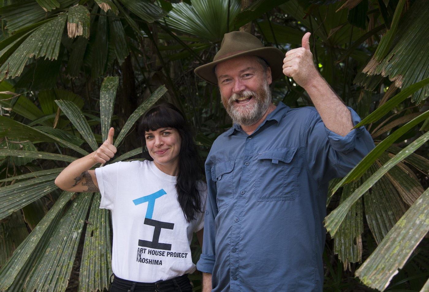 Kelvin Davies and Kate Stevens from We Are Explorers