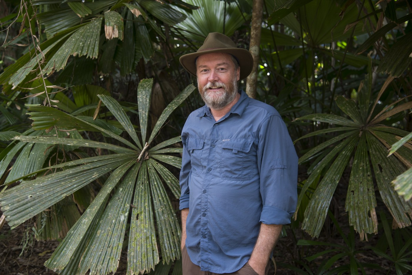Kelvin Davies in the Daintree Rainforest