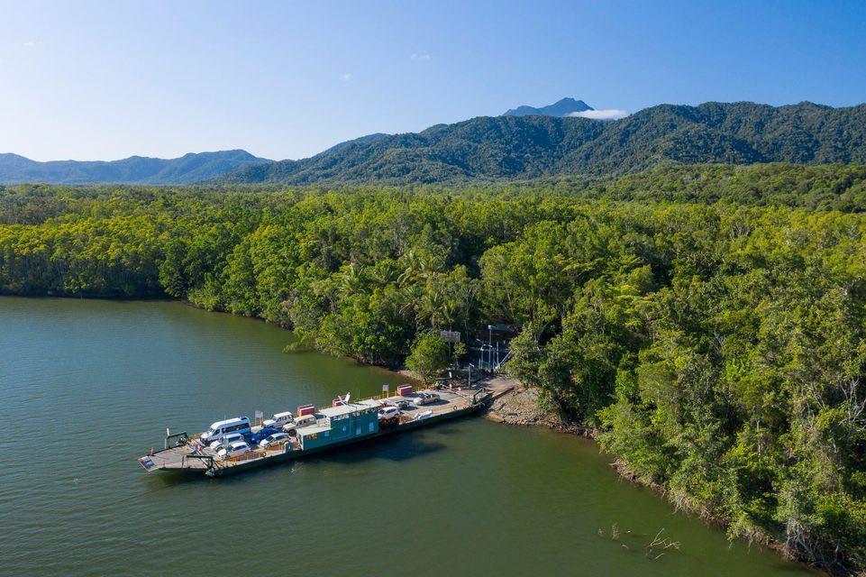 Daintree River and ferry by Steven Nowakowski
