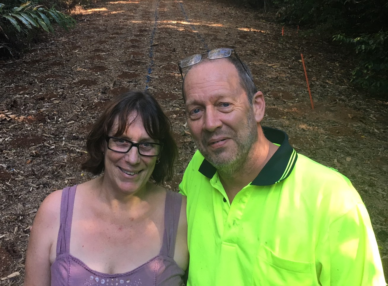 Connie Kerr and Dave Pinson of Daintree Life